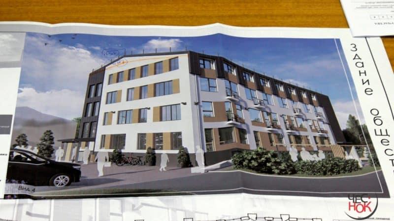 Архитектор Павел Миряшев построит четырехэтажный офис напротив Белого дома